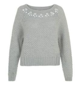 New look embellished jumper